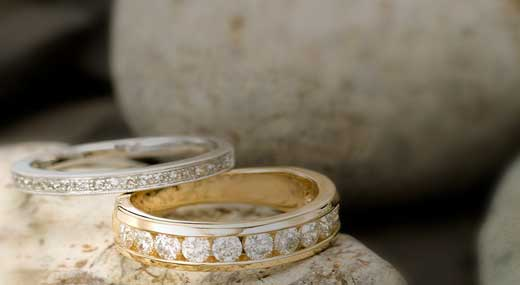 Wedding gordons jewelers womens wedding bands simple bands to diamonds we have it all junglespirit Image collections
